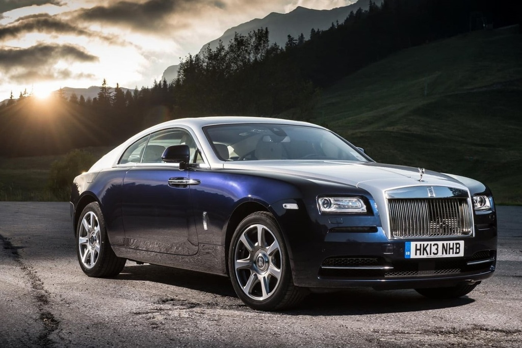 Nhung oto co dong co lon nhat the gioi, tu Bentley den Bugatti hinh anh 6 rolls_royce_wraith_side_view_blue_wallpaper.jpg