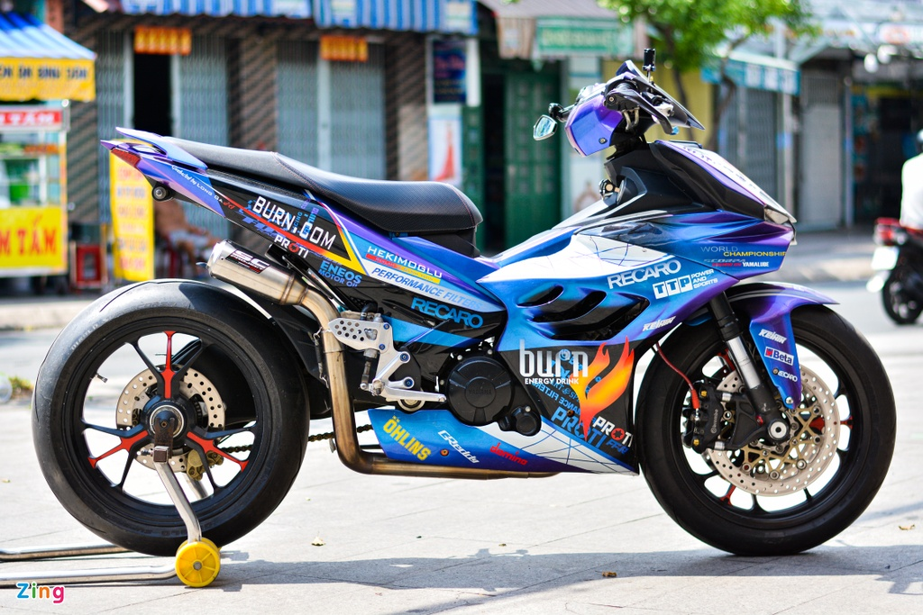Yamaha Exciter do dan ao moto YZF-R1 anh 11