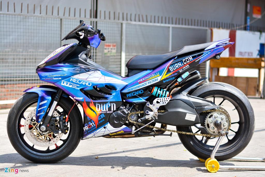 Yamaha Exciter do dan ao moto YZF-R1 anh 1