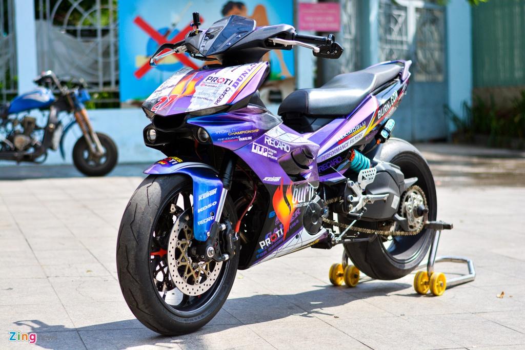 Yamaha Exciter do dan ao moto YZF-R1 anh 2