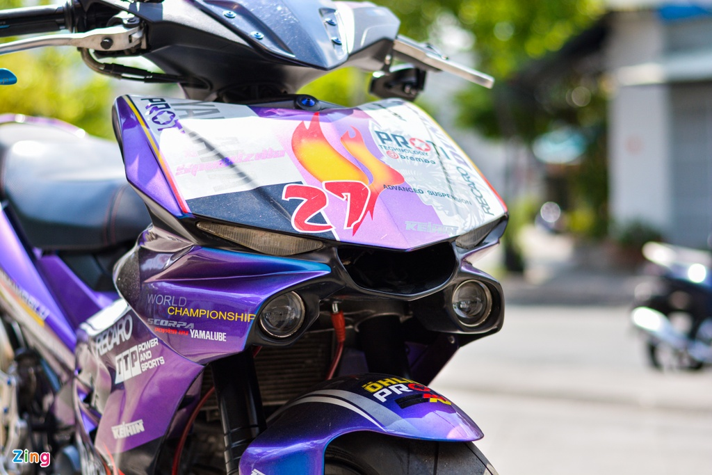 Yamaha Exciter do dan ao moto YZF-R1 anh 3