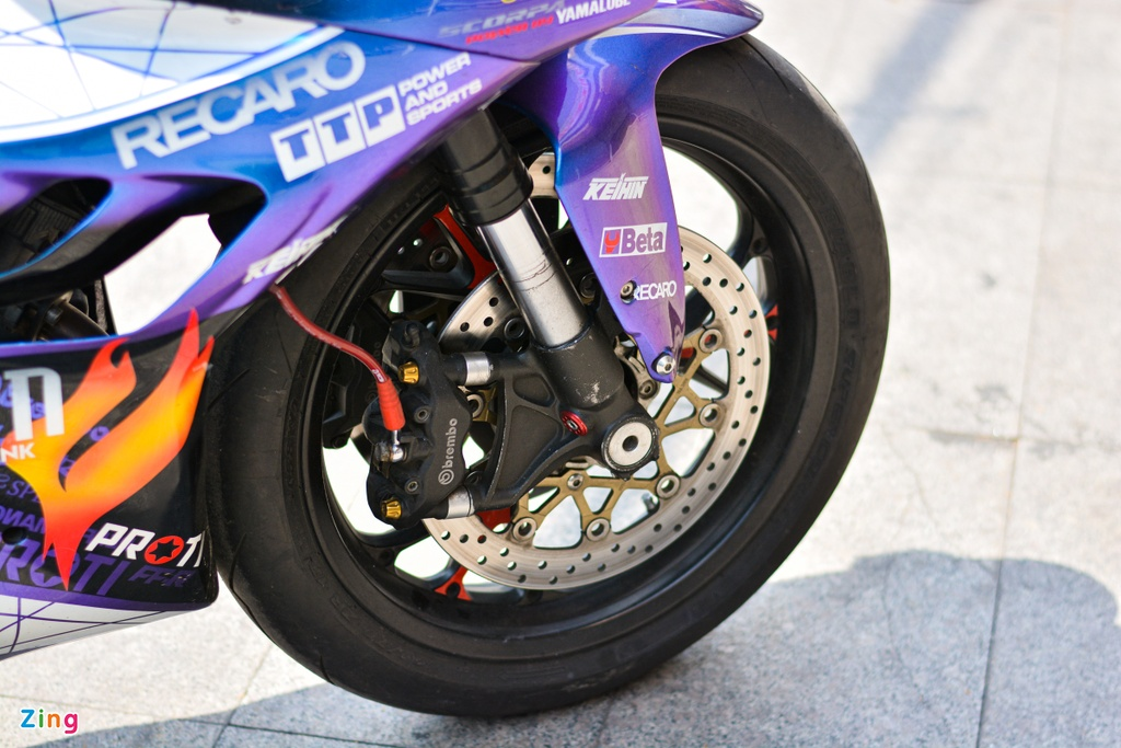 Yamaha Exciter do dan ao moto YZF-R1 anh 4