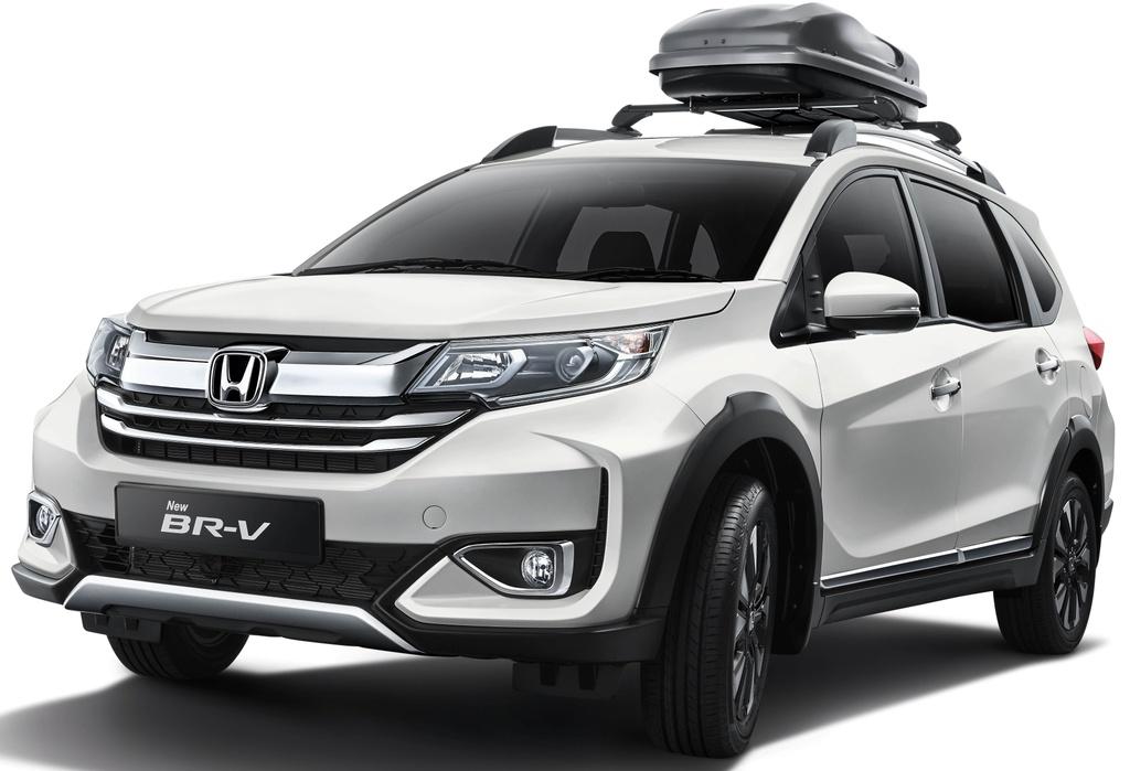 Honda BR-V 2020 ra mat - 2 phien ban,  gia tu 22.637 USD anh 1