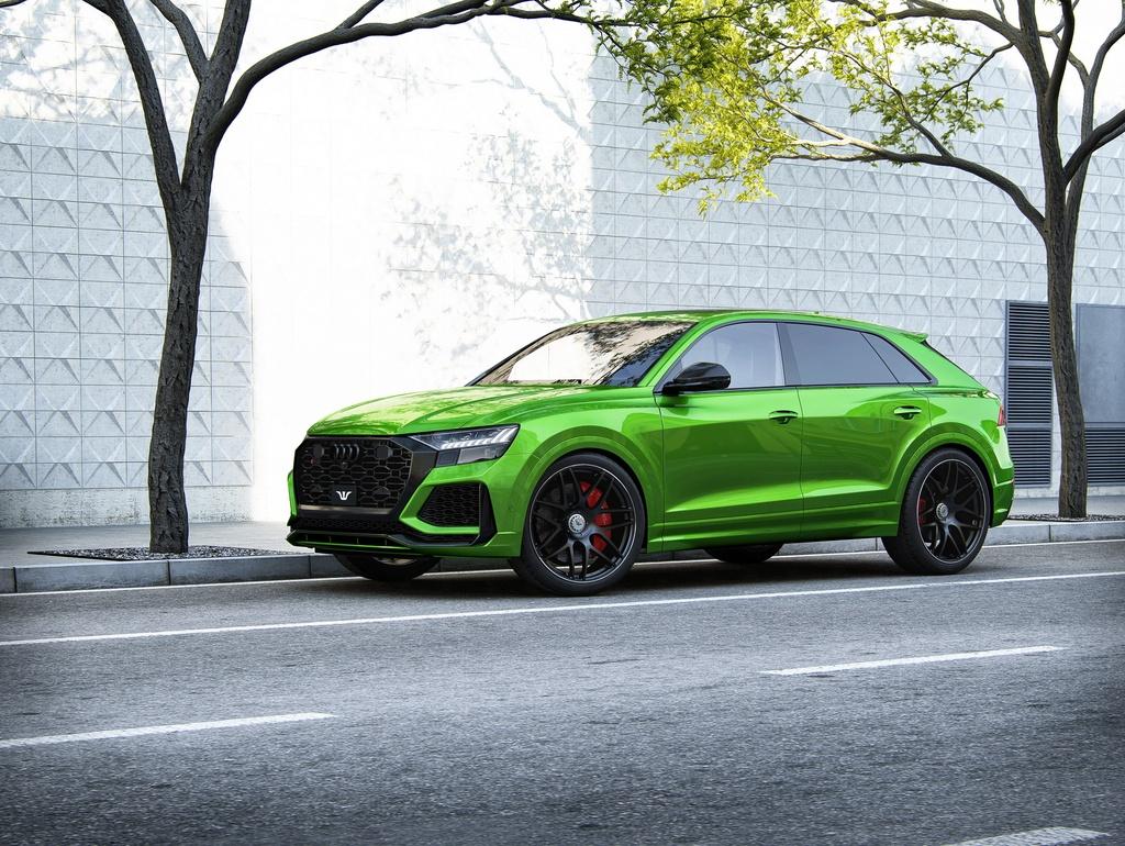 Audi RS Q8 voi goi do manh ngang ngua Bugatti Veyron cua nguoi Duc anh 5