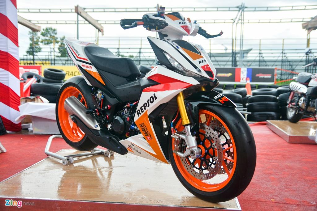 Honda Winner voi ban do cuc chat cua biker Viet anh 1