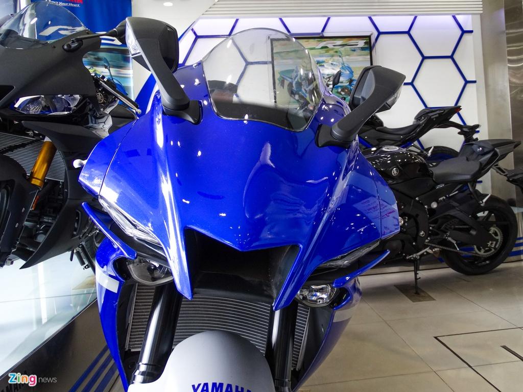Yamaha YZF-R1 2020 tai VN - doi thu Kawasaki ZX-10R,  gia 729 trieu anh 3