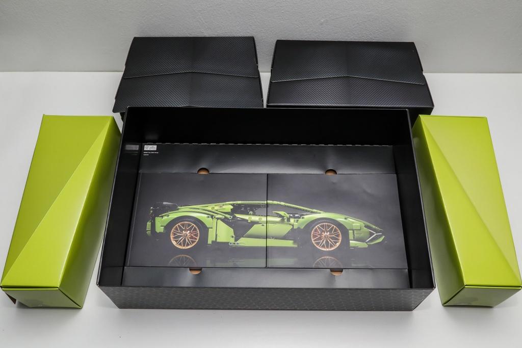 Dap hop Lamborghini Sian phien ban lego tri gia 374 USD anh 2