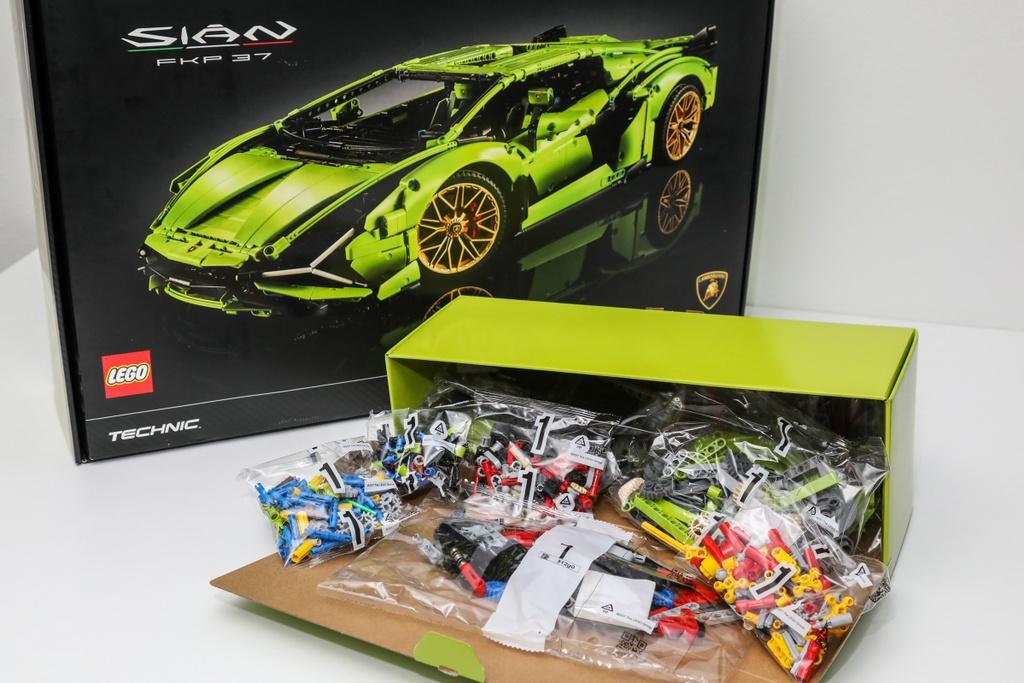 Dap hop Lamborghini Sian phien ban lego tri gia 374 USD anh 6