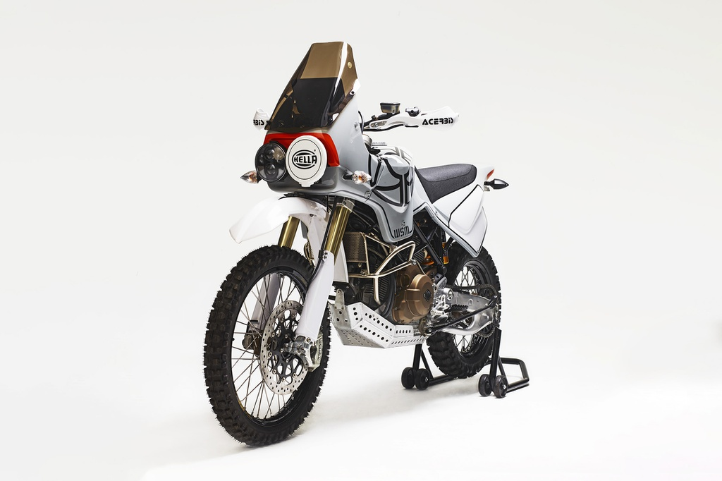 Chi tiet Ducati Scrambler 'lot xac' thanh xe aventure co dien anh 1