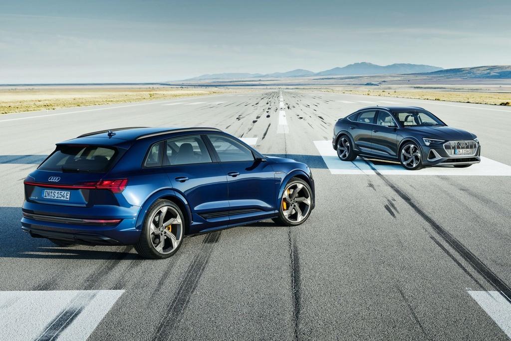 Ra mat Audi e-tron phien ban nang cap suc manh anh 1