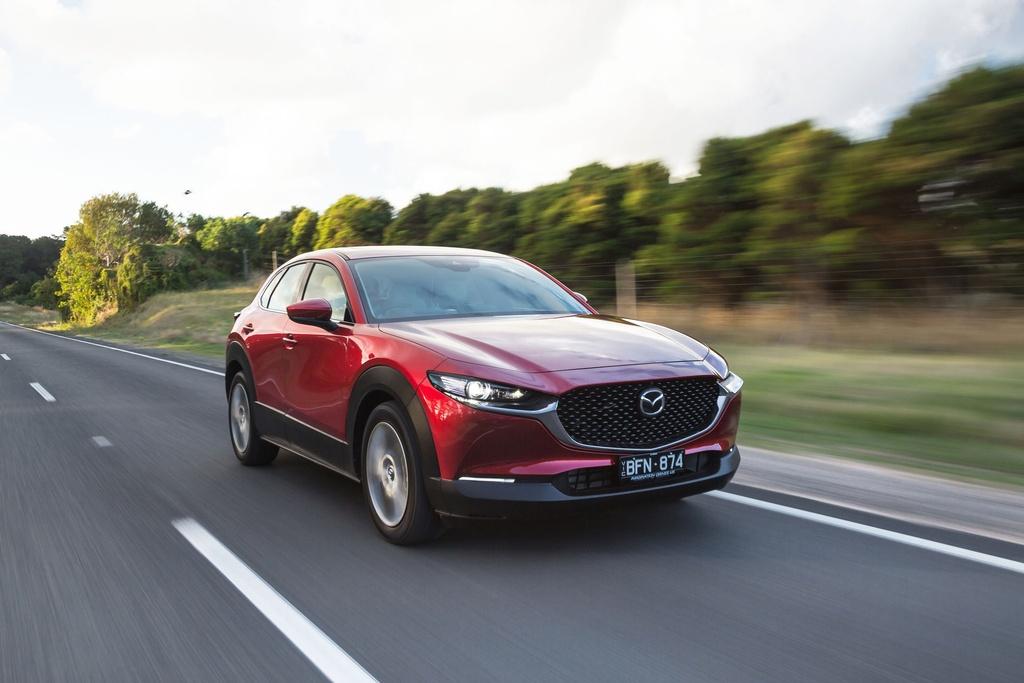 Ra mat Mazda3 va Mazda CX-30 the he moi - dung dong co xang khong bugi anh 1
