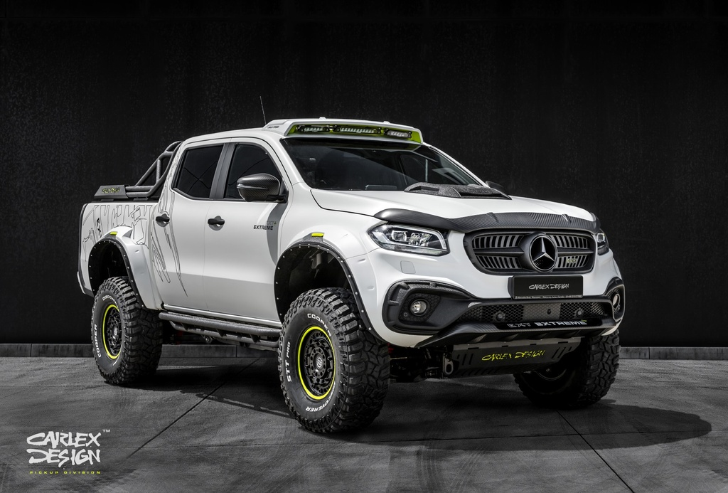 Chi tiet Mercedes-Benz X-Class voi goi do the thao off-road anh 1