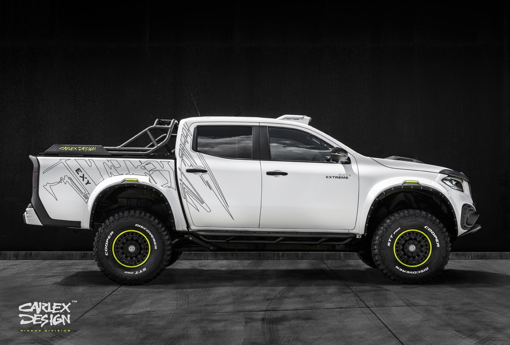 Chi tiet Mercedes-Benz X-Class voi goi do the thao off-road anh 8