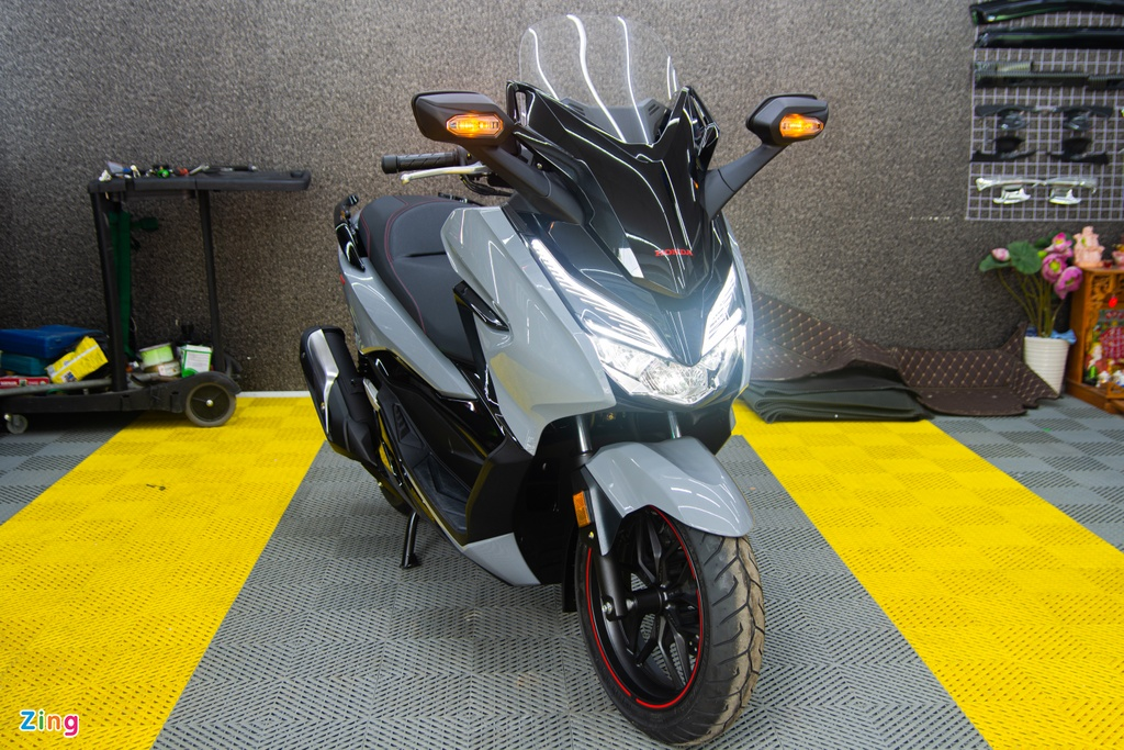 Honda Forza 300 2020 ban gioi han ve VN,  gia tu 345 trieu dong anh 1