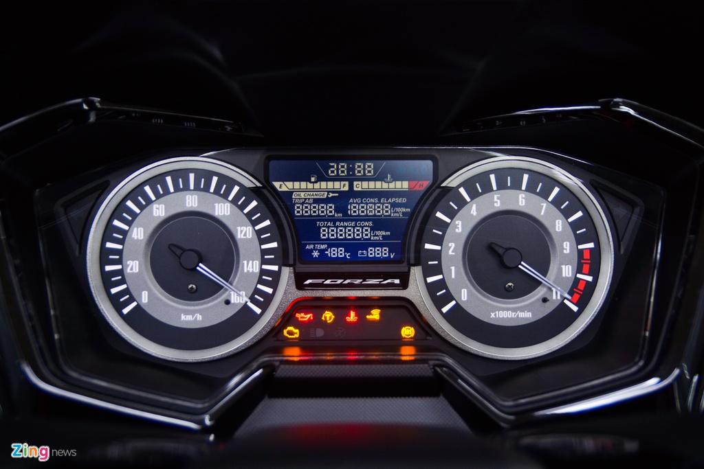 Honda Forza 300 2020 ban gioi han ve VN,  gia tu 345 trieu dong anh 6