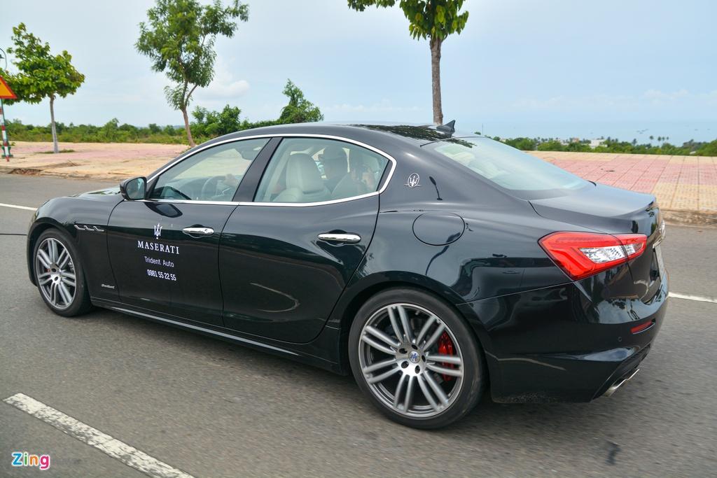 Chi tiet Maserati Ghibli o VN - sedan manh 350 ma luc,  gia tu 5, 69 ty anh 13