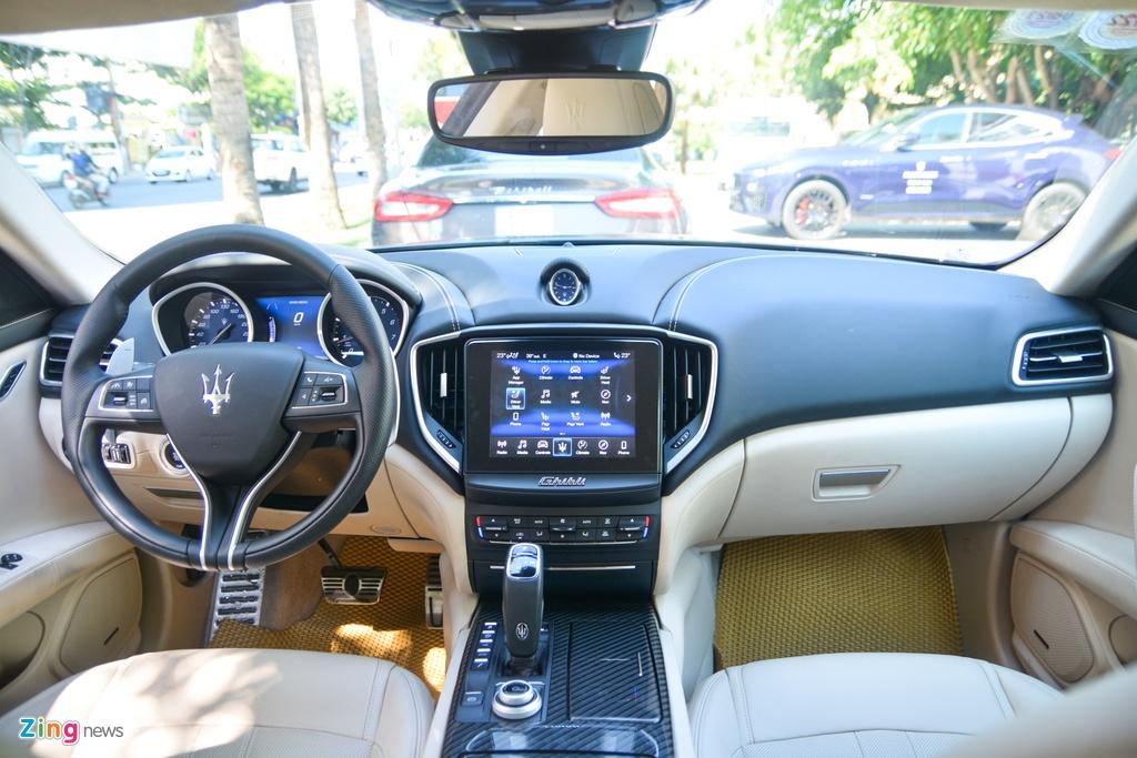 Chi tiet Maserati Ghibli o VN - sedan manh 350 ma luc,  gia tu 5, 69 ty anh 6