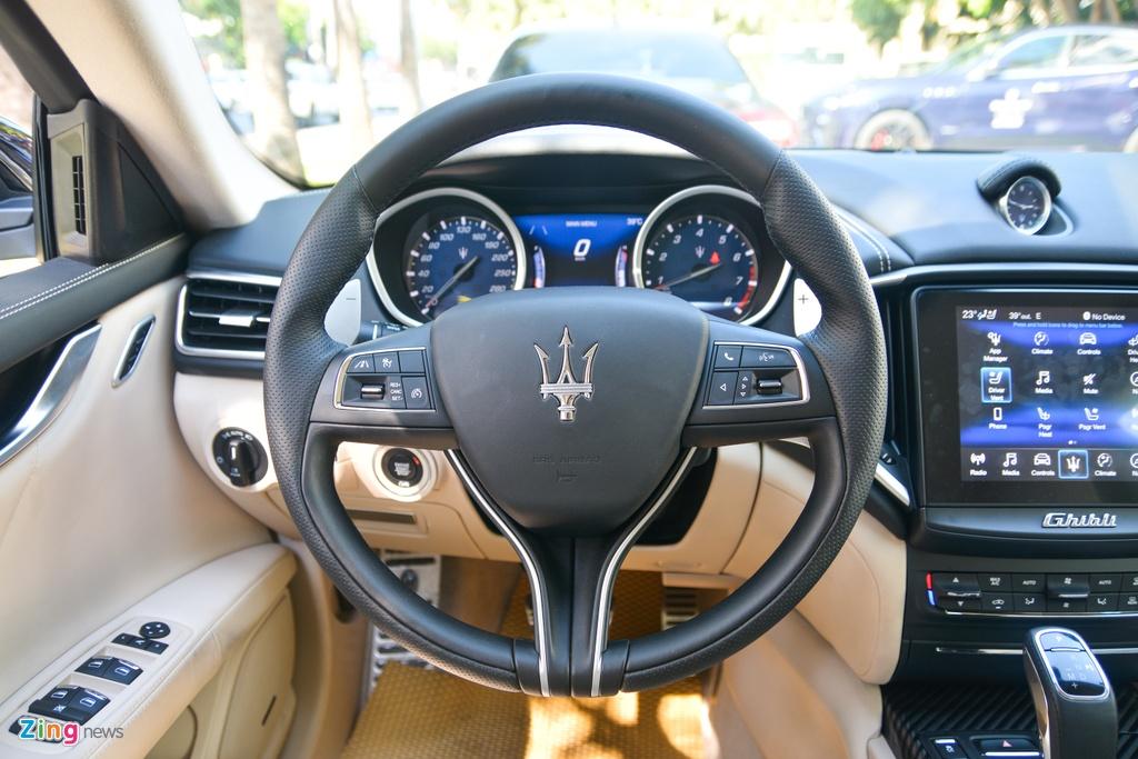 Chi tiet Maserati Ghibli o VN - sedan manh 350 ma luc,  gia tu 5, 69 ty anh 7