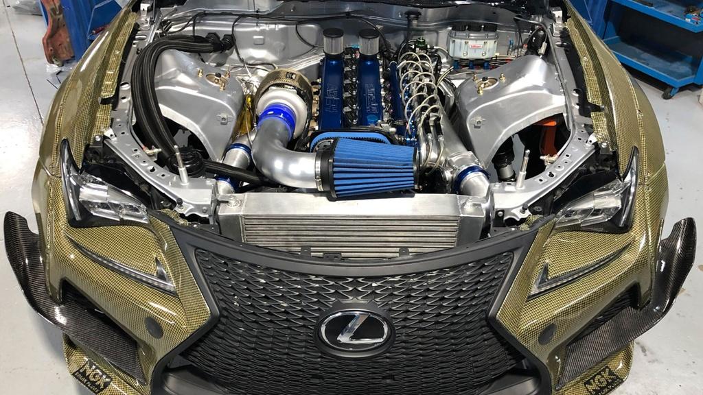Ra mat Lexus RC F Carbon Kelvar manh 1.200 ma luc anh 5