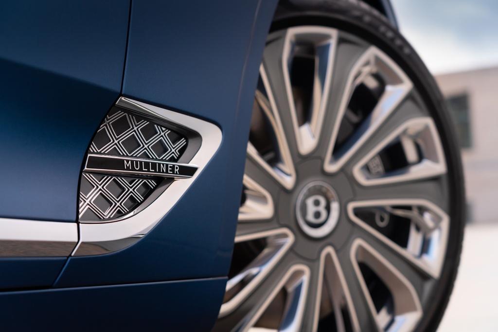 Chi tiet xe sang Bentley Continental GTC Convertible Mulliner anh 3