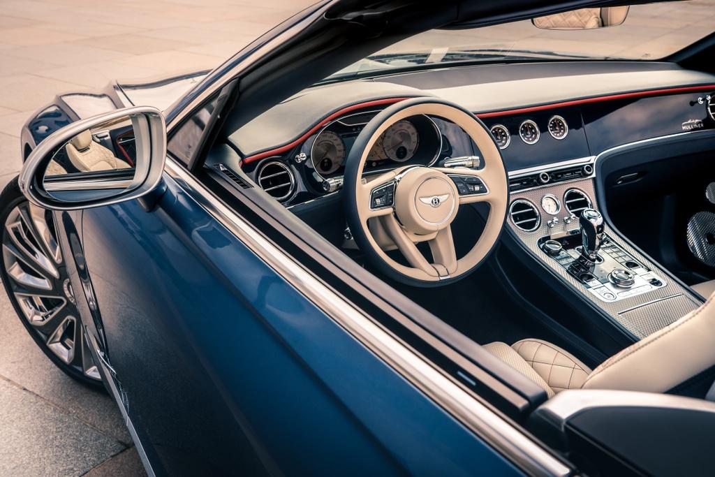 Chi tiet xe sang Bentley Continental GTC Convertible Mulliner anh 4