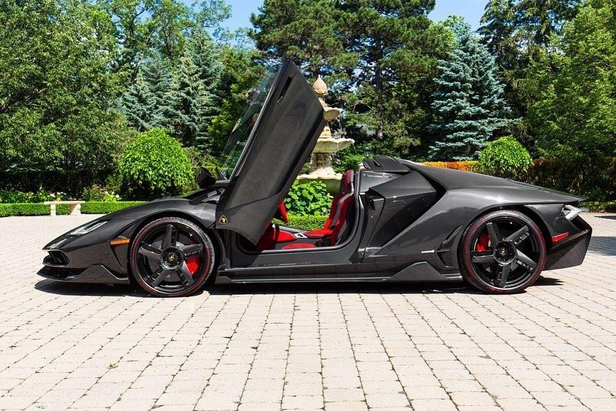 Hang hiem Lamborghini Centenario Roadster 2017 rao ban gia trieu USD anh 3