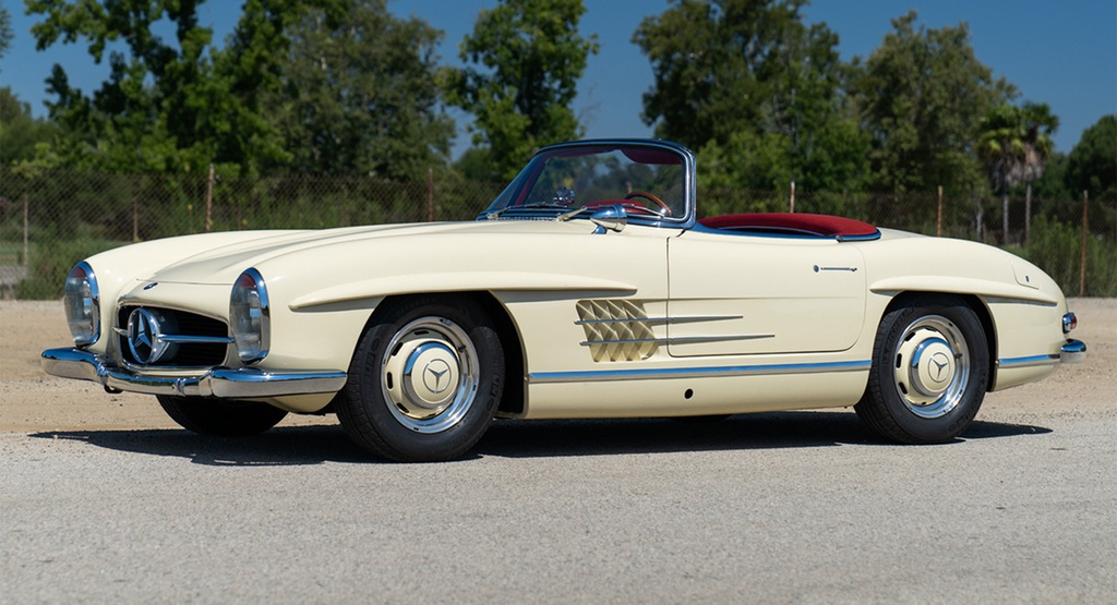 Mercedes-Benz 300 SL Roadster doi 1961 rao ban gan mot trieu USD anh 1