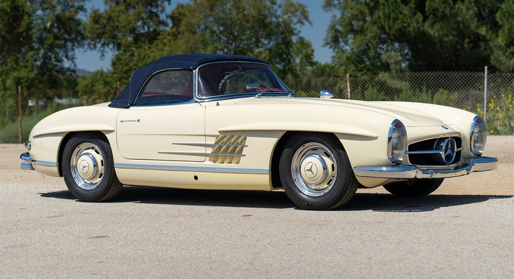Mercedes-Benz 300 SL Roadster doi 1961 rao ban gan mot trieu USD anh 3
