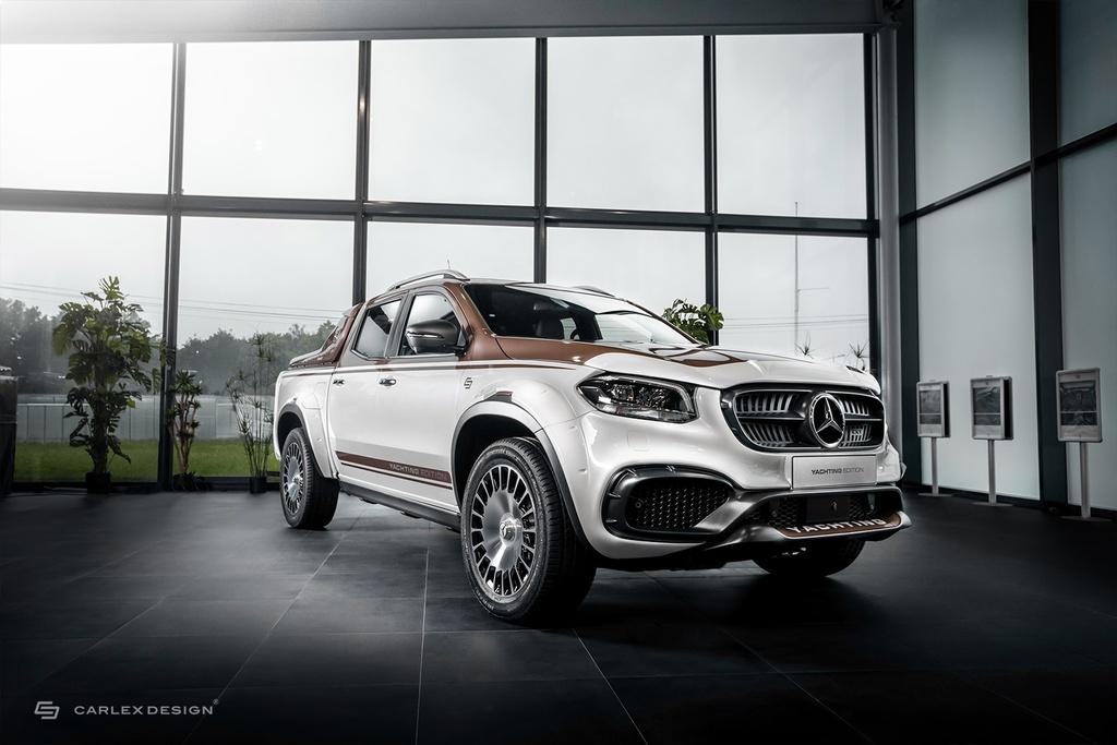 Chiem nguong Mercedes-Benz X-Class voi ban do phong cach co dien anh 1