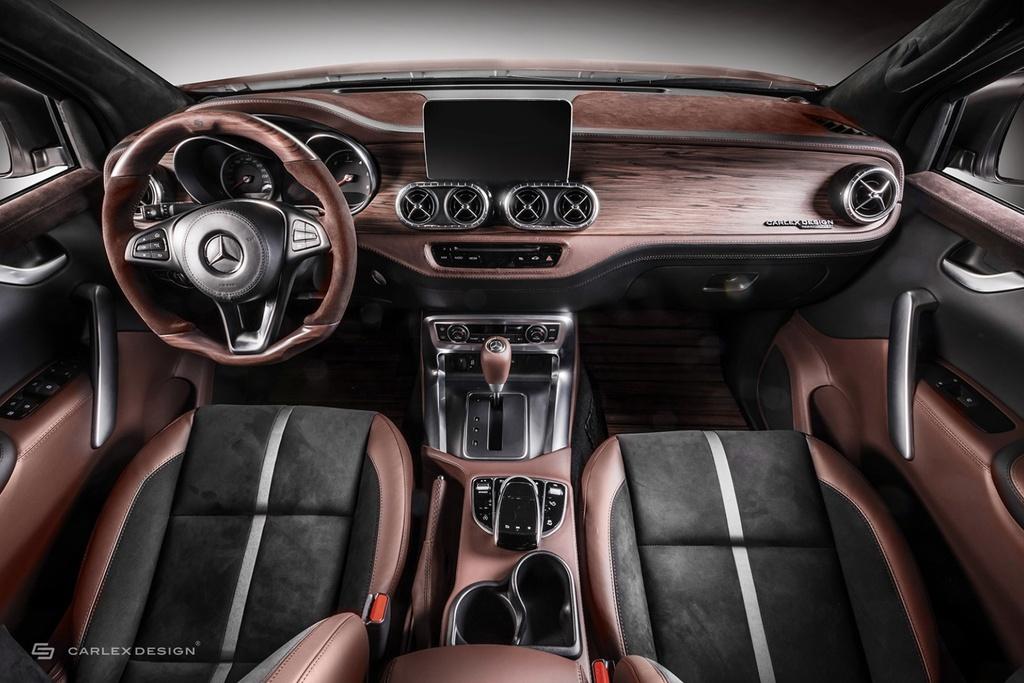 Chiem nguong Mercedes-Benz X-Class voi ban do phong cach co dien anh 3