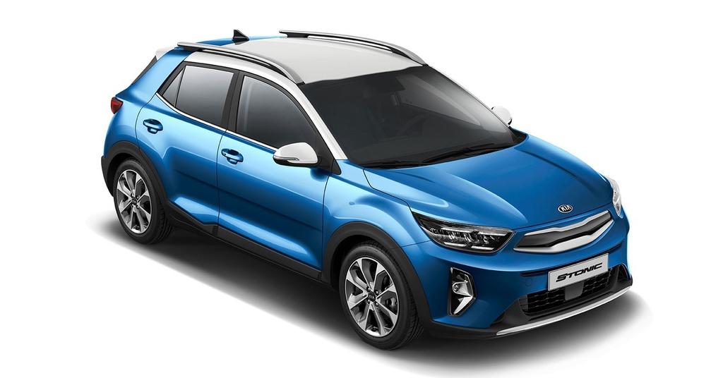 Ra mat Kia Stonic 2021,  SUV hang B doi dau Ford Ecosport anh 5