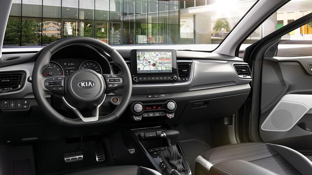 Ra mat Kia Stonic 2021,  SUV hang B doi dau Ford Ecosport anh 4