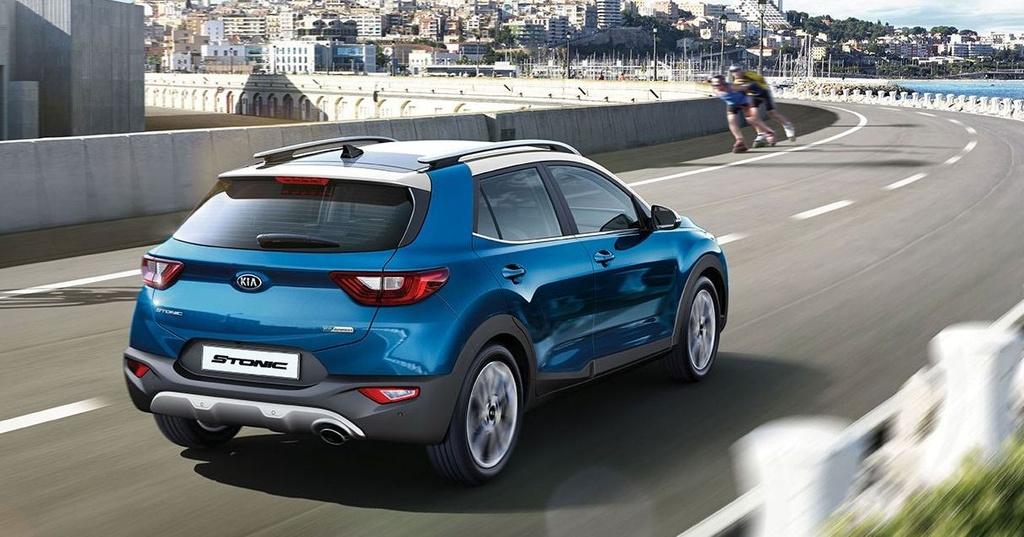 Ra mat Kia Stonic 2021,  SUV hang B doi dau Ford Ecosport anh 2