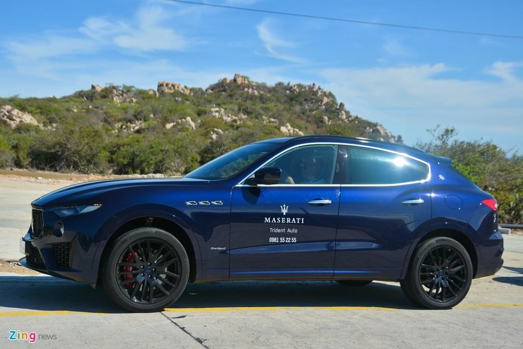 Chi tiet Maserati Levante tai VN,  SUV hang sang gia tu 5, 5 ty dong anh 17