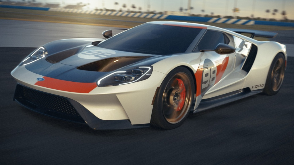 Ford GT co them 2 phien ban dac biet,  co tien chua chac mua duoc anh 1