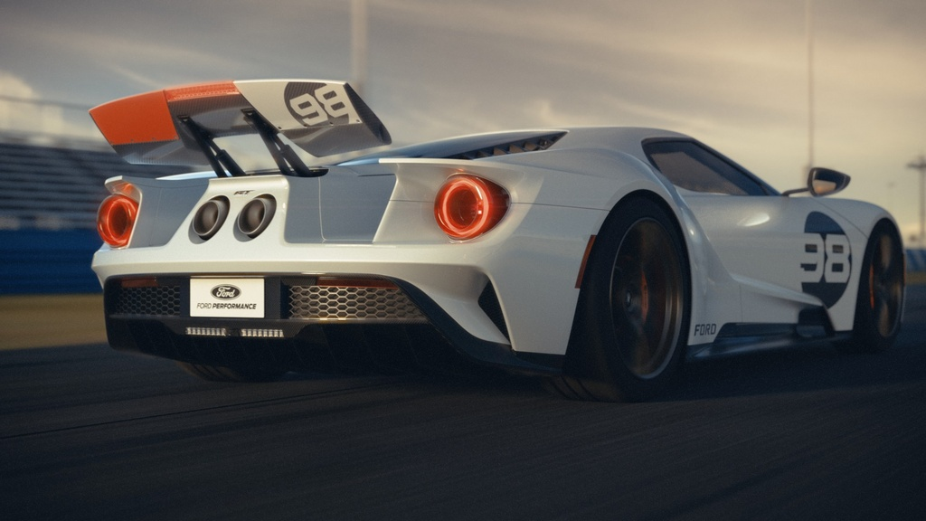 Ford GT co them 2 phien ban dac biet,  co tien chua chac mua duoc anh 4