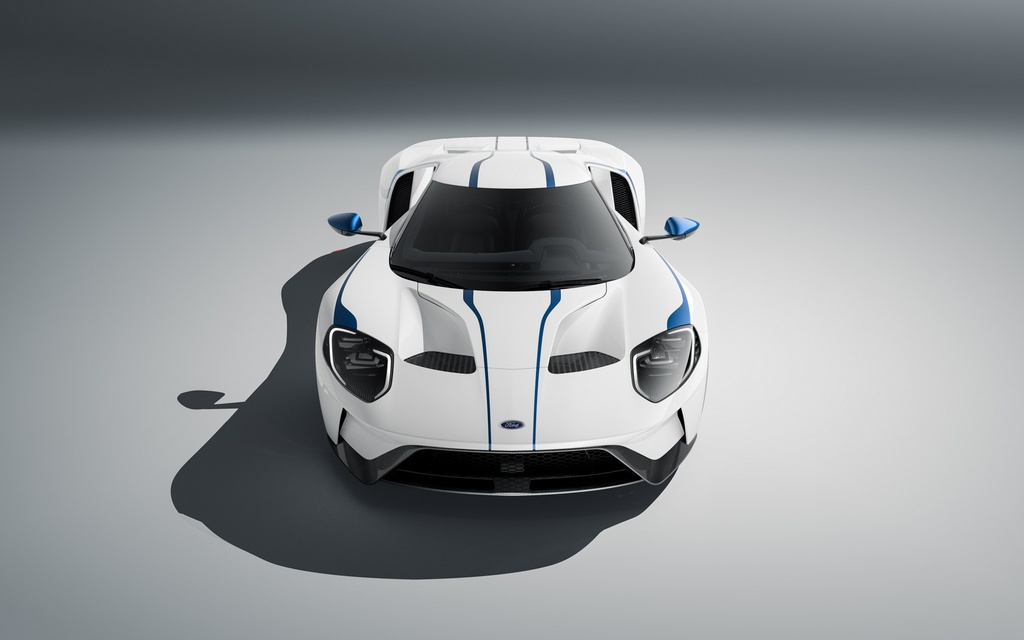 Ford GT co them 2 phien ban dac biet,  co tien chua chac mua duoc anh 8