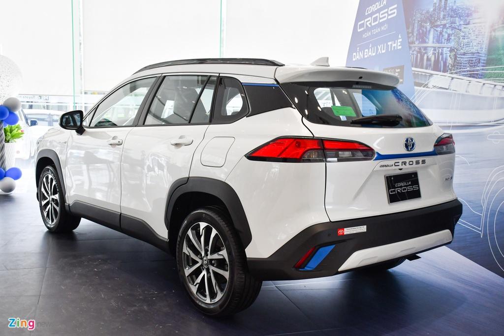 Chi tiet Corolla Cross 1.8HV,  SUV duoi 1 ty trang bi dong co hybrid anh 6