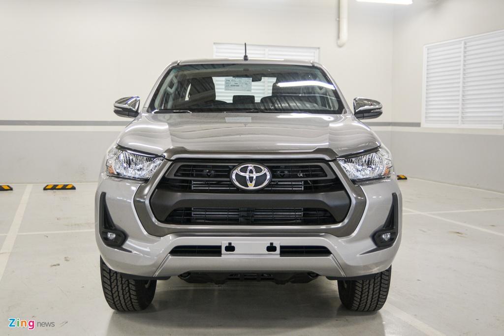 Chi tiet Toyota Hilux 2020 tai VN - 4 phien ban,  gia tu 628 trieu dong anh 2
