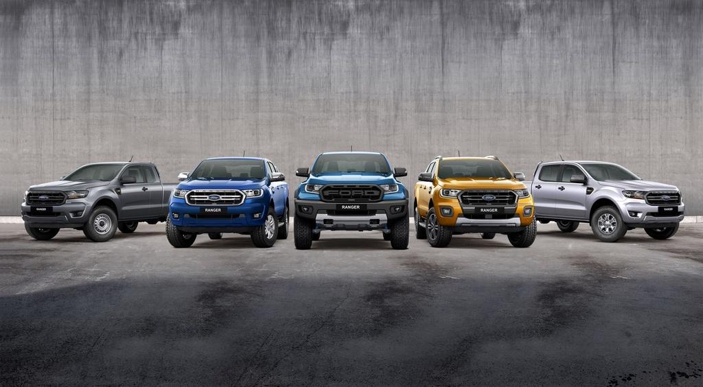 Ford Ranger Wildtrak X ra mat anh 1