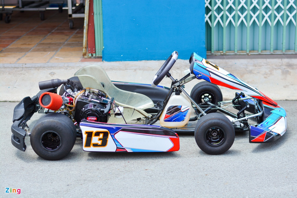 Xe dua go-kart chay tren 100 km/h tai VN co gi dac biet? anh 2