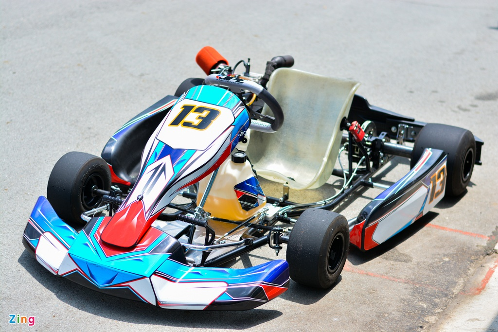 Xe dua go-kart chay tren 100 km/h tai VN co gi dac biet? anh 1