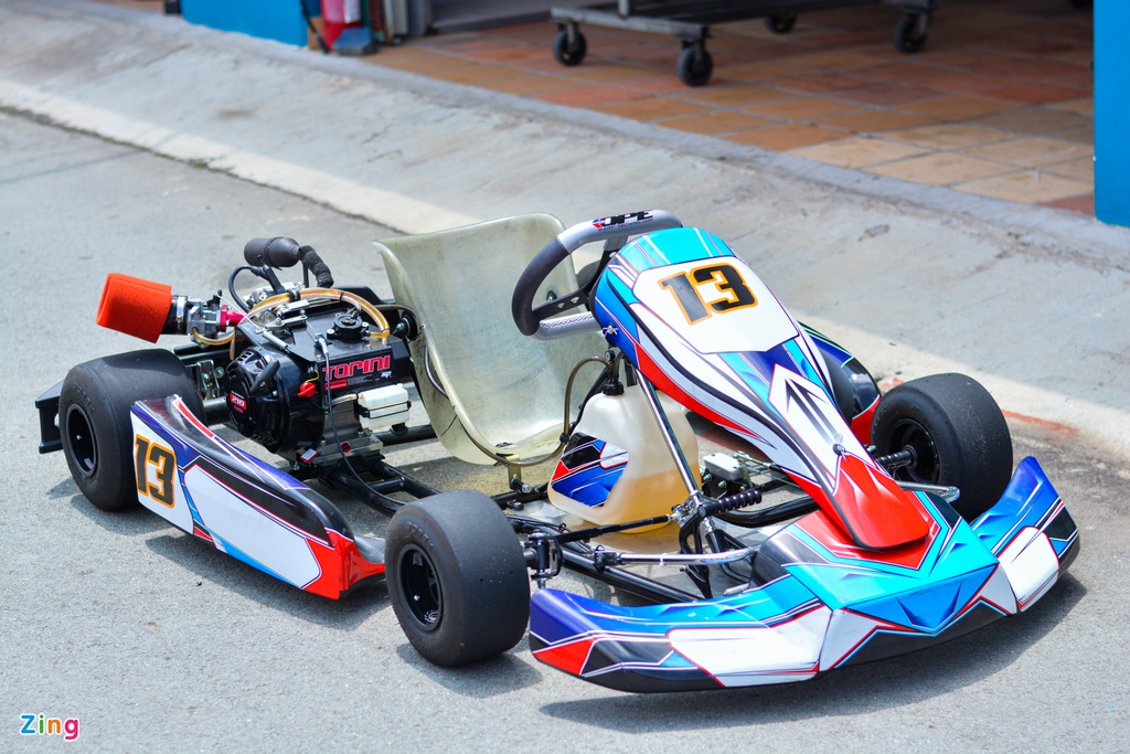 Xe dua go-kart chay tren 100 km/h tai VN co gi dac biet? anh 12