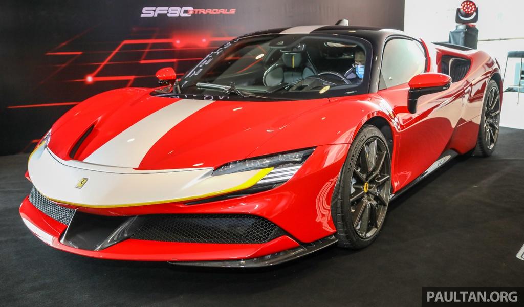 Sieu xe Ferrari SF90 Stradale duoc ra mat tai Malaysia anh 1
