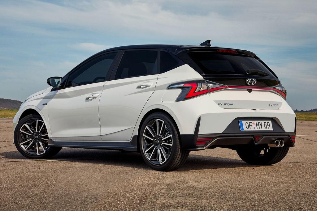 Hyundai i20 N Line 2021 duoc ra mat anh 4