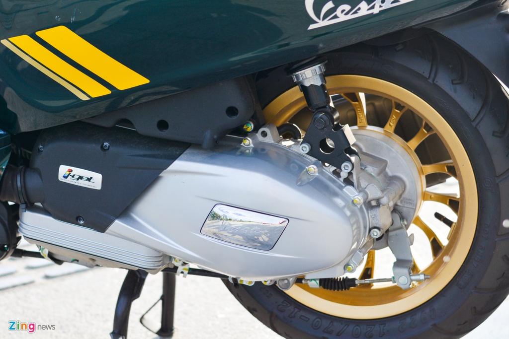 Chi tiet Vespa Sprint 150 Racing Sixties gia 94, 9 trieu tai VN anh 10