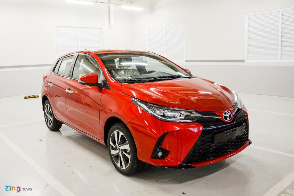 Chi tiet Toyota Yaris 2020 tai dai ly anh 13