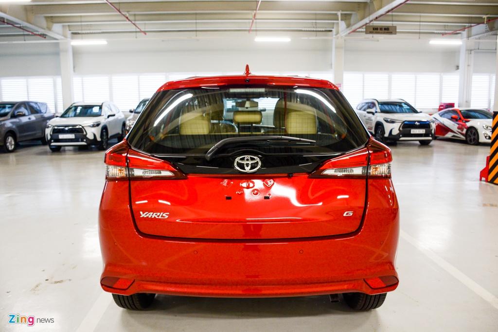 Chi tiet Toyota Yaris 2020 tai dai ly anh 5
