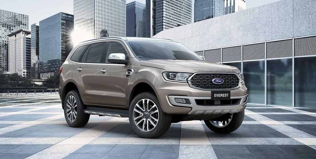Ford Everest 2021 duoc ra mat tai Thai Lan anh 1
