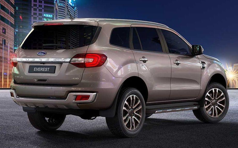 Ford Everest 2021 duoc ra mat tai Thai Lan anh 4
